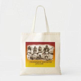 Homeland Security Apache Budget Tote Bag