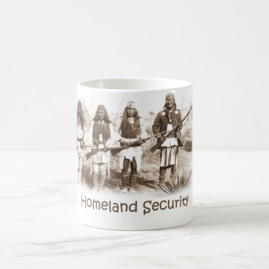 Homeland Security Apache Coffee Mug