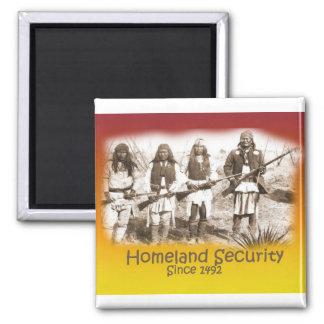 Homeland Security Apache Fridge Magnets