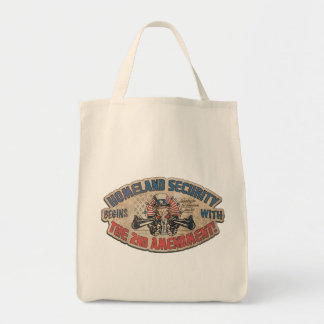 Homeland Security Begins with the Second Amendment Tote Bag