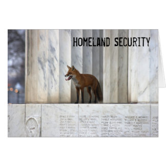 Homeland Security Card
