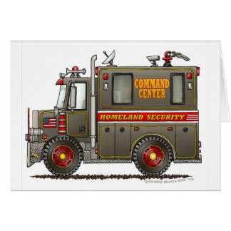 Homeland Security Command Truck Cards