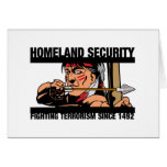 Homeland Security Greeting Card