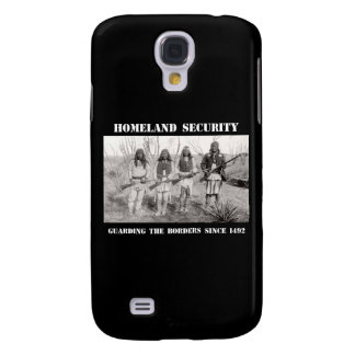 HOMELAND SECURITY Guarding The Borders since 1492 Galaxy S4 Cover