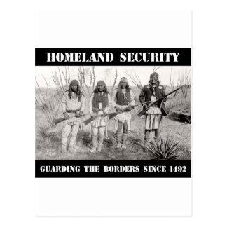 HOMELAND SECURITY Guarding The Borders since 1492 Postcard