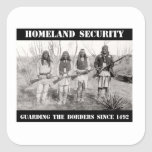 HOMELAND SECURITY Guarding The Borders since 1492 Sticker