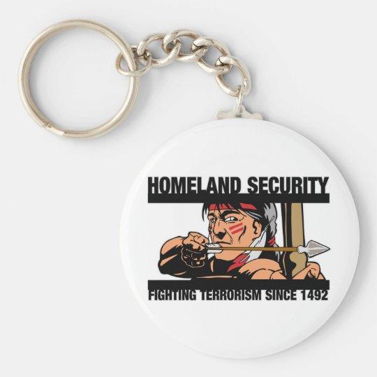 Homeland Security Keychain