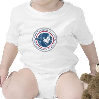 Homeland Security, Native American Baby Bodysuits