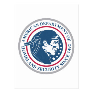 Homeland Security, Native American Post Cards