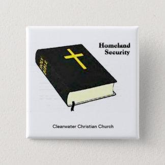 Homeland Security Pinback Button