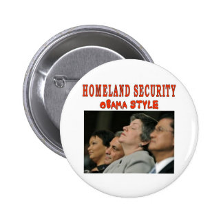 HOMELAND SECURITY PINBACK BUTTON