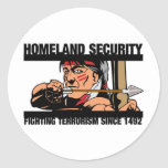 Homeland Security Stickers