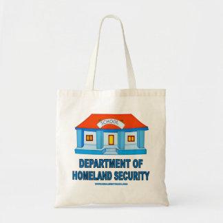 Homeland Security Tote Bag