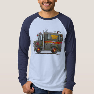 Homeland Security Truck Adult Shirt
