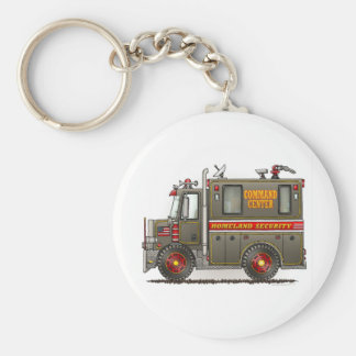 Homeland Security Truck Keychain