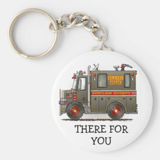 Homeland Security Truck Keychain TFY