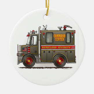 Homeland Security Truck Ornament