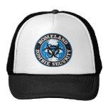 Homeland Zombie Security Skull - Blue Trucker Hat