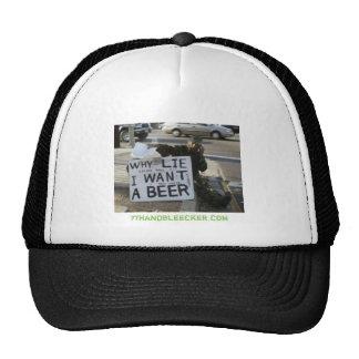 homeless, 7thandbleecker.com trucker hat