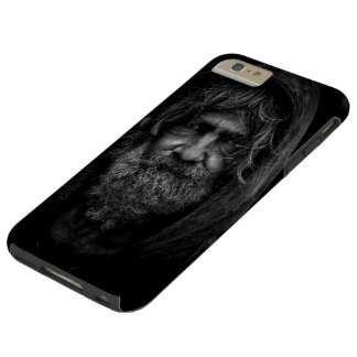 Homeless and Helpless Man in Black and White Tough iPhone 6 Plus Case