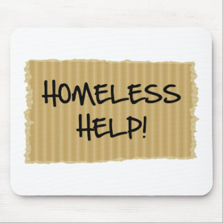 Homeless Help! Mouse Pad