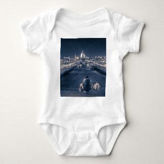 Homeless in London Baby Bodysuit