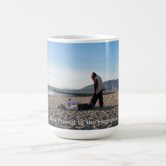 Homeless in Ventura on Christmas Eve Coffee Mug