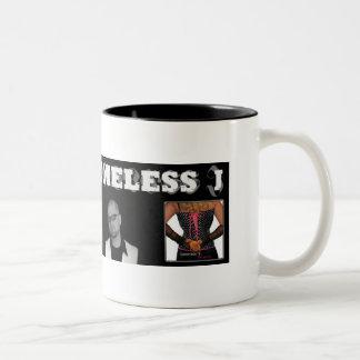 homeless J. Squeeze Mug