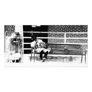 Homeless Man Card