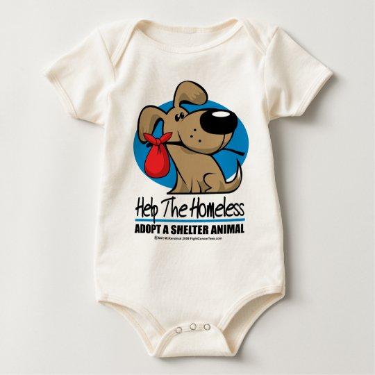 Homeless Pet Baby Bodysuit