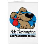 Homeless Pet Card