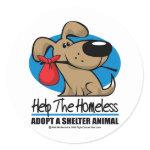 Homeless Pet Sticker