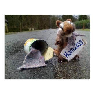 Homeless Postcard
