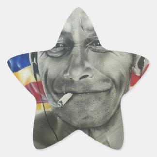 Homeless Veteran Star Sticker
