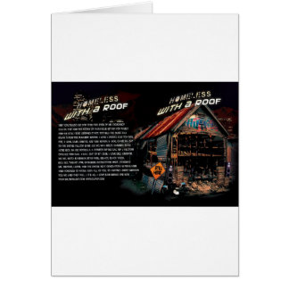 Homeless with a roof-20 years in the game Hilldvd- Greeting Card