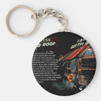 Homeless with a roof-20 years in the game Hilldvd- Keychain