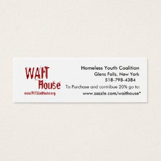 Homeless Youth Coalition, Glens Falls, New York... Mini Business Card