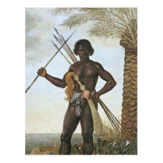 Homem africano (African man) by Albert Eckhout Postcard