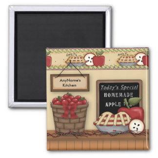 Homemade Apple Pie Customizable Magnet