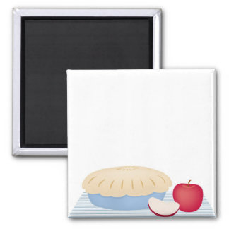 Homemade Apple Pie Refrigerator Magnet
