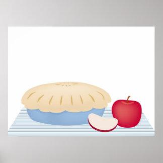 Homemade Apple Pie Poster