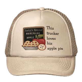 Homemade Apple Pie Truckers Hat