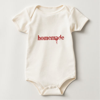 homemade baby bodysuit