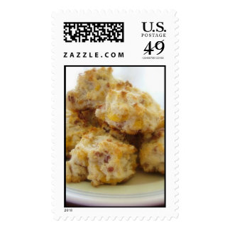 Homemade Bacon Cheddar Biscuit Stamps