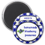 Homemade Blueberry Preserves Magnet