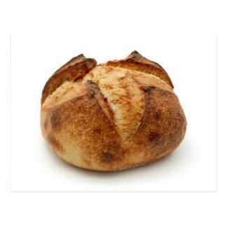 Homemade bread postcard