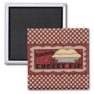 Homemade Cherry Pie Magnet
