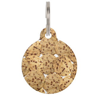 Homemade Chocolate Chip Cookies Pet ID Tag