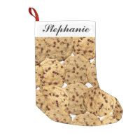 Homemade Chocolate Chip Cookies Small Christmas Stocking