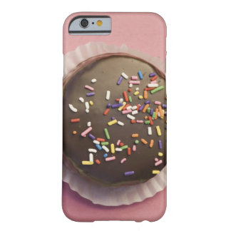 Homemade chocolate dessert with sprinkles barely there iPhone 6 case